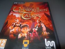 The Book of Unwritten tales  pc windows rare point and click adventure vgc