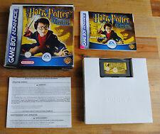 Jeu HARRY POTTER ET LA CHAMBRE DES SECRETS sur Nintendo Game Boy Advance GBA