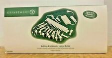 Dept 56 Lighting System for Buildings & Accessories Brand New - Free Shipping