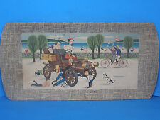 1902 Model A Cadillac Runabout Kentley Corporation Fiber Serving Tray-Vintage