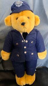 MERRYTHOUGHT ENGLAND POLICE BEAR!! ~