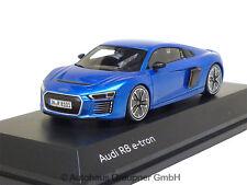 Audi R8 e-tron Magnetic Blue 1:43 5011618431 Modellauto Minimax etron Blau