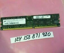 2GB DDR1 DDR PC PC3200R DDR-400 400  3200 184PIN ECC-REG RDIMM  371-1097-01-VG4