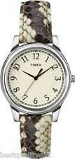 Timex Python Patterned Ladies Watch T2P088