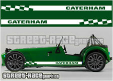 Caterham 009 racing stripes graphics stickers decals