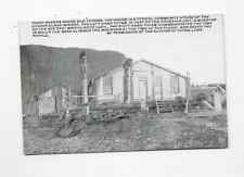 Vintage Photo Postcard Indian Chief Shakes House Totem Ko-Na-Ka-Det R2225