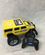 VTG Nikko Hummer H2 Remote Control Truck Untested As Is Caveat Emptor WYSYWIG