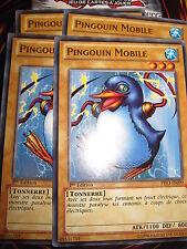 YU-GI-OH! COM PINGOUIN MOBILE PRIO-FR090 (PLAYSET) 4 CARTES MINT NEUF EDITION 1