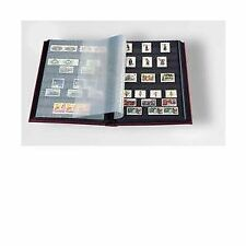 Stamp Album 32-Black Page Stamp Book Stockbook Lighthouse LS2/16 Red (Size: