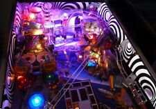Ultimate TWILIGHT ZONE Pinball Vortex Inner Cabinet Decal FULL SET Mod
