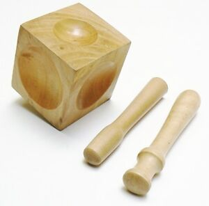Wood Dapping Block 2 Wood Punch Set Wooden Doming Cube Forming Tool Design Shape