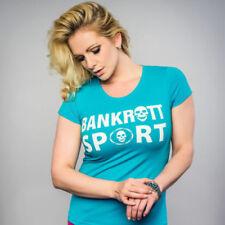 Hüftlange Damenblusen, - tops & -shirts aus Baumwollmischung Sport