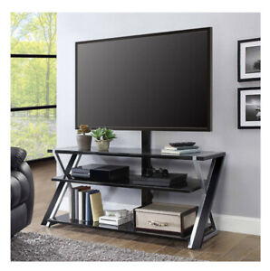 """Whalen Xavier 3 in 1 TV stand up to 70"""" with 3 display options (A5)"""