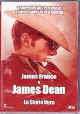 Dvd **JAMES DEAN ♦ LA STORIA VERA** con James Franco nuovo 2001