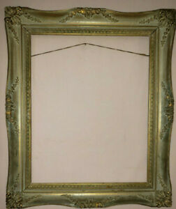 Vintage Hand Carved Gilded Frame Size 15.5 X 9.5 inches in good condition