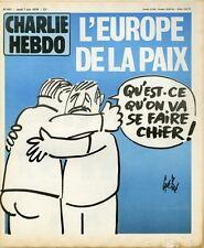 """""""CHARLIE HEBDO N°447 du 7/6/1979"""" Gébé : L'EUROPE DE LA PAIX"""