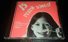 cd 15 praise songs for kids Christian  children's  new sealed  kid city tunes