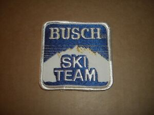 Busch Ski Team 1980's Orginial Patch