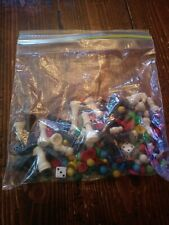 Bag Of Miscellaneous Game Pieces(plastic)(ch001)
