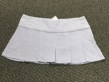 Juniors LILU  PurpleLavender  corduroy PLEATED mini skirt size 5