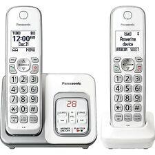 Panasonic Kxtgd532W Expandable Cordless Phone w/ Call Block & Answering Machine