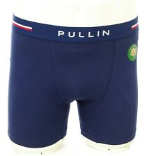 PULL IN Boxer Homme Fashion coton FA2 NAVY caleçon uni underwear homme PULLIN
