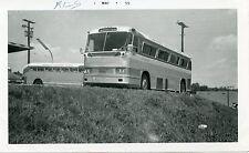 5E364 Rp 1959 Atwoods Transport Lines Tuxedo Md 1952 Mack Bus #7 @ Alexandria Va