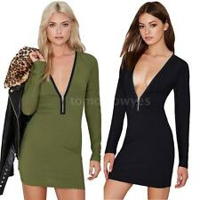 Unbranded Acrylic Long Sleeve Regular Size Dresses for Women