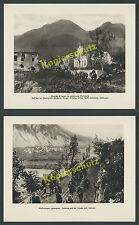 DT. Alpi corpo südfront 12. ISONZO Battaglia woltschach volče Tolmin Cividale 1917