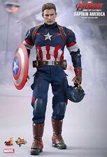 Hot Toys 1/6 Marvel Avengers MMS281 Captain America Rogers Shiel Loose Figure UK
