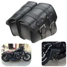 Motorcycle Side Saddle Bags For Harley Sportster 883 1200 XL1200X XL883N XLH1200