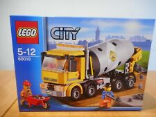 Lego City 60018 Cement Mixer Truck, Brand New in Box