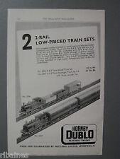 R&L Ex-Mag Advert: Hornby Dublo Trains / Sturmey Archer Dynohub Hub Lighting Set
