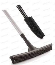 Rubber Broom Brush Set Pet Hair Remover Lint Hand Brush Rubber Sweeping Broom