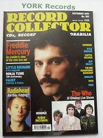 RECORD COLLECTOR MAGAZINE - Issue 255 - November 2000 - Freddie Mercury / Who