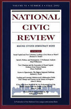 National Civic Review, No. 3, Fall 2002: Social Capital and New Urbanist Design
