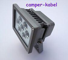 LED Strahler 7W  230V  aus Metall, Außen Fluter IP65 strahlt sehr weit, Art. 407