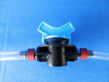"3/8"" OD Barb Shutoff Valve HHO Dry Cell Fuel Hydrogen Generator Kit Electrolyte"