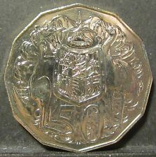 2006 Australia 50c Fifty Cent ** FROM MINT SET ** #SM06-50