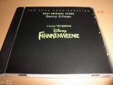 FRANKENWEENIE soundtrack OSCAR PROMO cd DANNY ELFMAN for your consideration