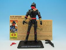 "GI Joe Iron Grenadier Officer (v1) 25th Anniversary Command Set  3.75"" Figure"