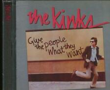 The Kinks(CD Album)Give People What They Want-New