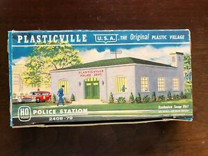 Plasticville  Police Station 2408-79