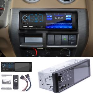 "4.1"" 12V FM Car Stereo Radio Bluetooth 1 DIN In Dash Handsfree MP5 SD/USB AUX"