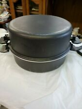 New listing Miracle Maid West Bend Gem Anodized Stainless 12' Skillet/pan/pot