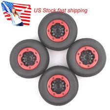 4pcs RC 1:10 1/10 Short Course Truck Tires Tyre &Wheel Rim For TRAXXAS SLASH HPI