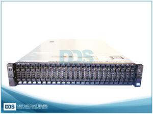 Dell  R720xd 24 SFF (2)E5-2630L v2 6-C 2.40Ghz 128GB   H710P Mini  (4)1G  (2)750