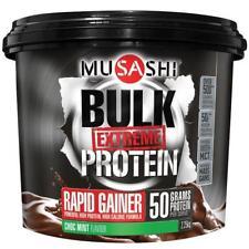 Musashi Bulk Extreme Protein Weight Gainer Powder Choc Mint 2.25kg