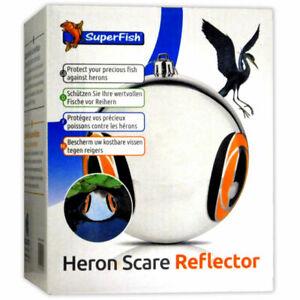 SuperFish Heron Scare Reflector 15cm Floating Ball