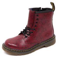 D3832 (without box) anfibio bimba DR. MARTENS bordeaux boot shoe kid girl